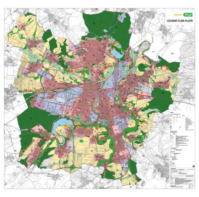 Městsky plán