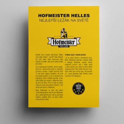 Hofmeister darkova karticka