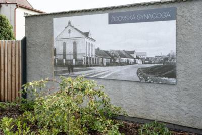 Infotabule synagoga Nýřany