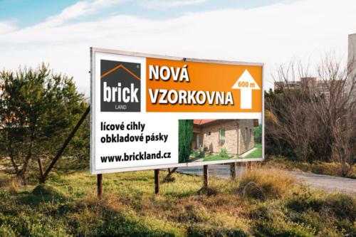 Brickland billboard