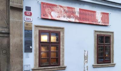 Státní vědecká knihovna Plzeň - banner k výstavě