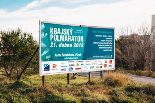 PlKr pulmaraton 2018 billboard
